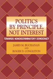 politics by principle not interest